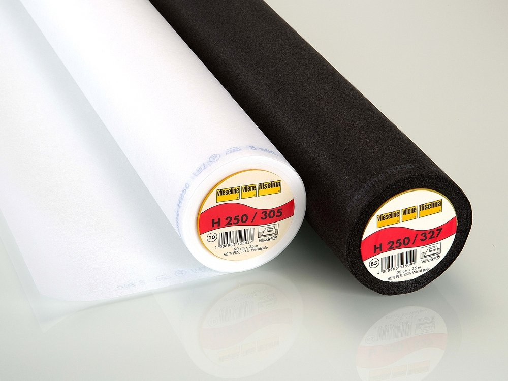 Vlieseline fusible interfacing H250 black | stoffen-hemmers.be