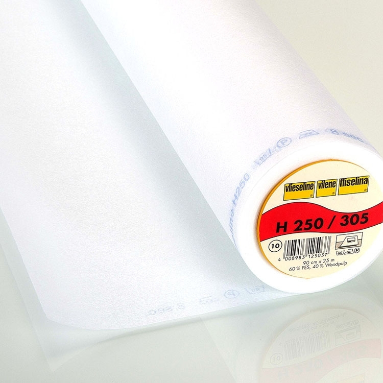 Vlieseline fusible interfacing H250 white