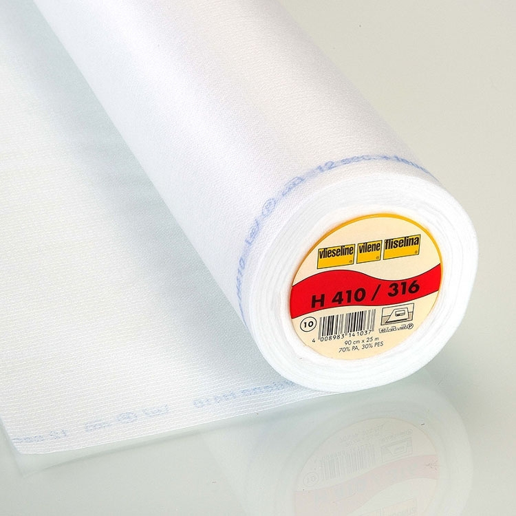 Vlieseline fusible interfacing H410, white | H410WEISS | weiss