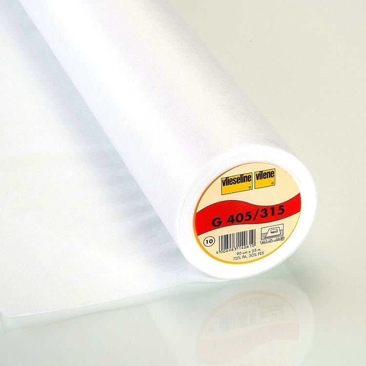 Vlieseline G405 fusible interfacing, wit