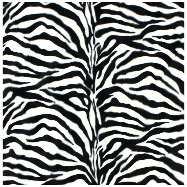 Imitation Fur Zebra