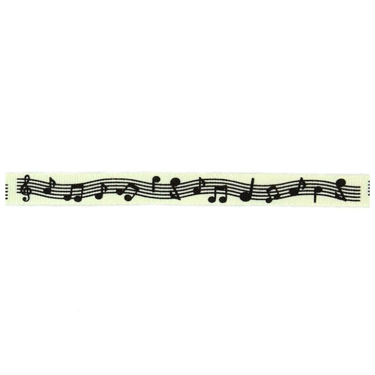 Ribbon music notes, 10 mm