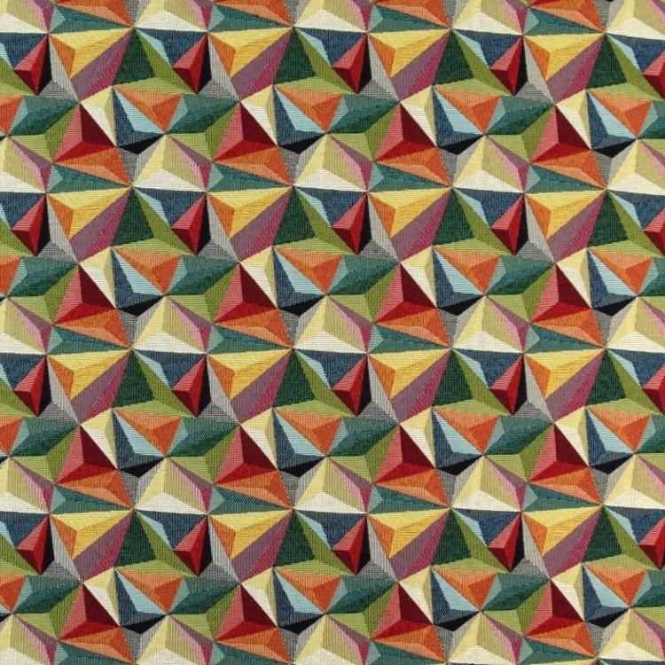 Hochwertiger Gobelinstoff mit plastisch wirkendem Muster