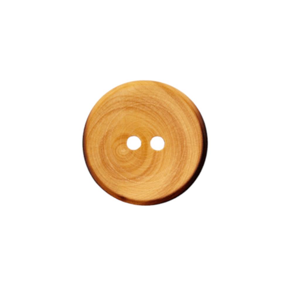 Modeknopf aus Holz