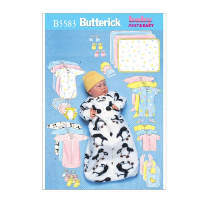 schnittmuster-butterick-5583-babyoutfit-