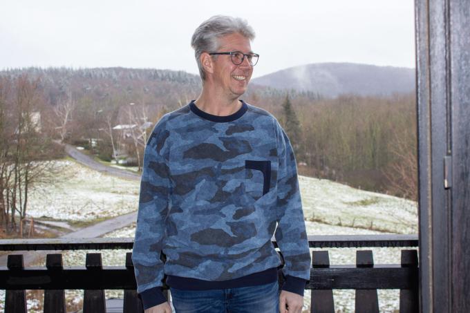E-Book Einfach anziehend Männerpullover Schulter zum