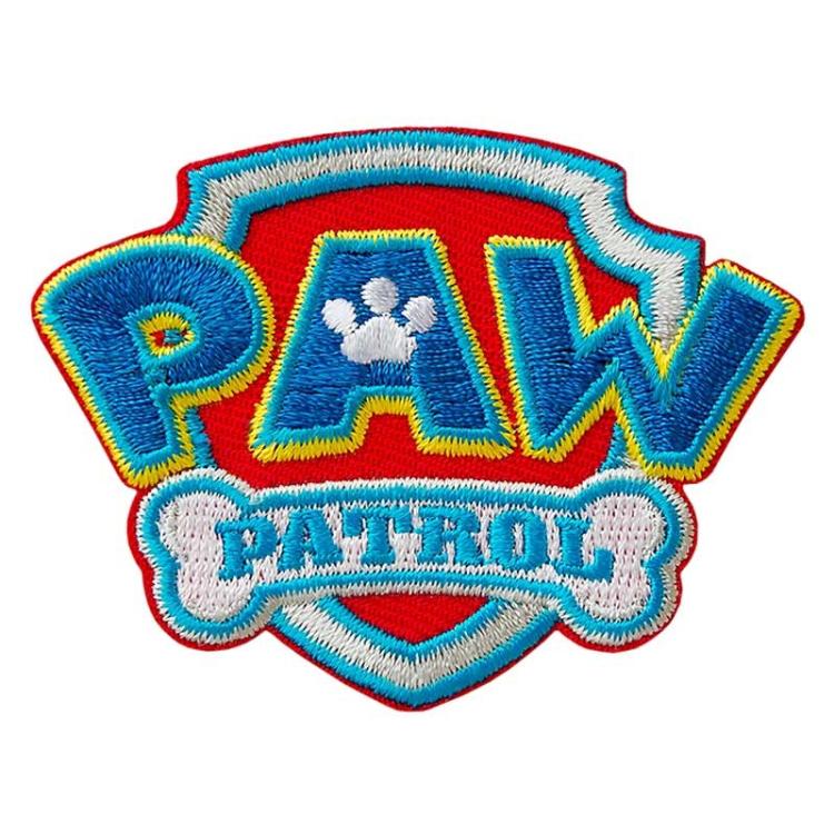 Application Paw Patrol Logo Fabrics Hemmers