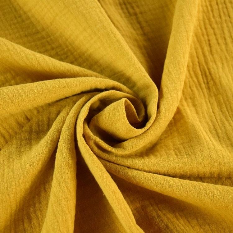 Llama DOUBLE GAUZE Cotton Muslin Fabric Dressmaking Childrens Material
