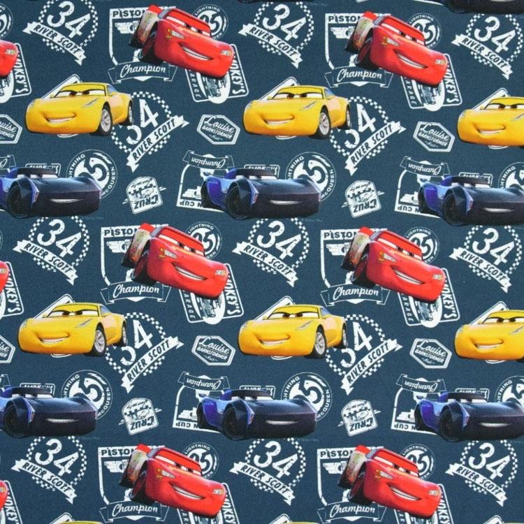 Disney Cars Veste /à capuche avec motif de Flash McQueen et fermeture /éclair pour gar/çon