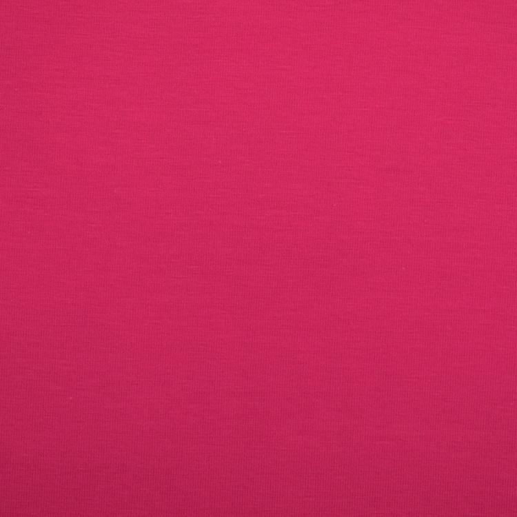 Baumwolljersey 2 x 25 x 150 Herzchen uni pink