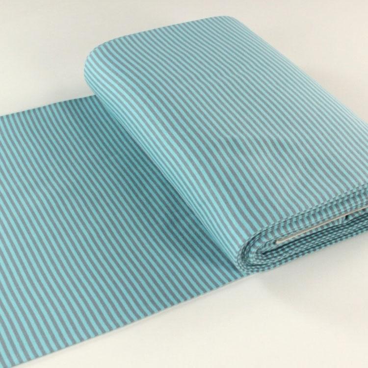 b ndchenstoff streifen glatt grau t rkis stoffe hemmers. Black Bedroom Furniture Sets. Home Design Ideas