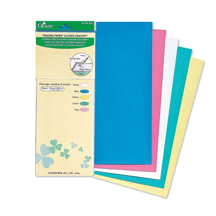 Clover Pauspapier Chacopy | Stoffe Hemmers