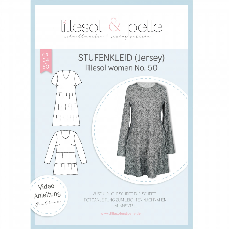Jersey Paper Pattern Dress