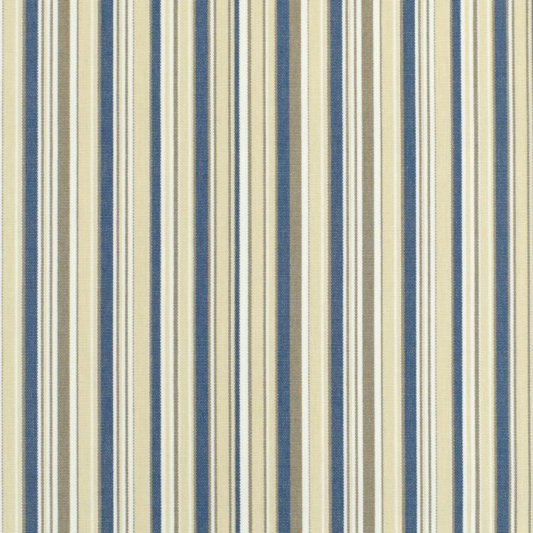 Hervorragend Markisen Outdoorstoff Streifen schmal creme-blau, 160 cm | Stoffe IF12