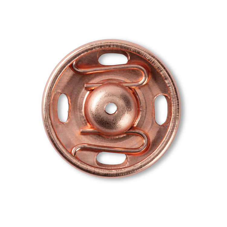 3 Prym Druckknöpfe zum Annähen 21 mm rosegold 341801