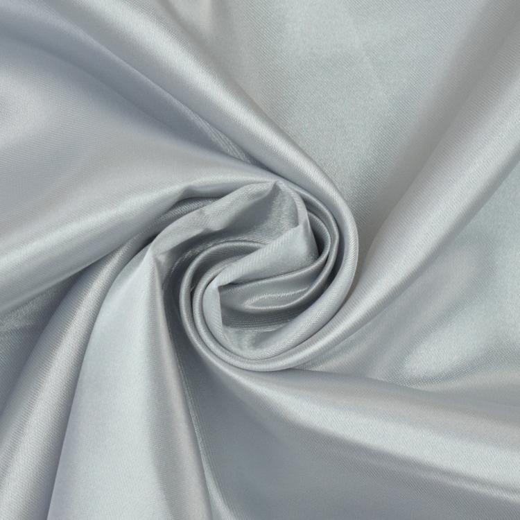 "60/"" Large 1 Mètres Bleu Métallique Dentelle sur Satin Bridal tissu.."