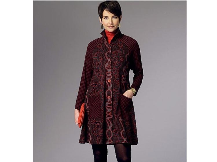 Pattern Butterick 6254 Coat, Size 42 50   Stoffen Hemmers