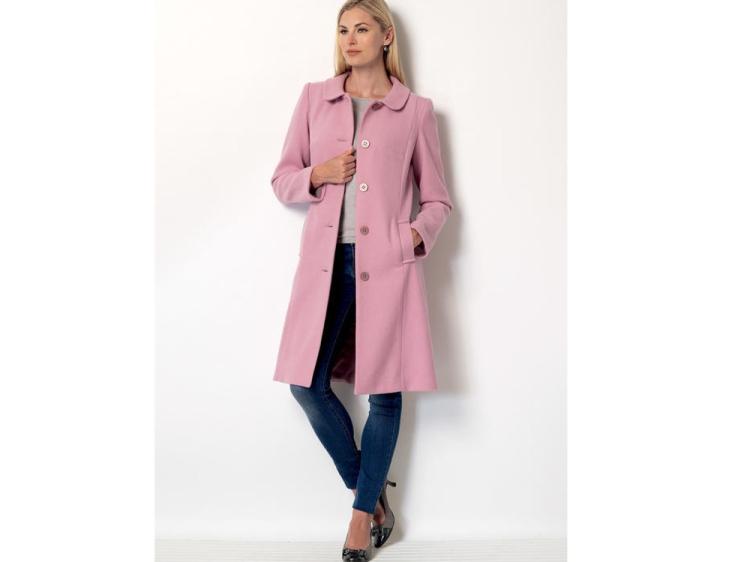 Pattern Butterick 6385 Misses Coat