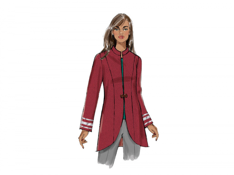 Pattern Butterick 6602 womens jacket