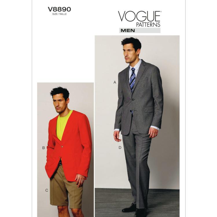 Schnittmuster Vogue 8890 Anzug Kombination | Stoffe Hemmers