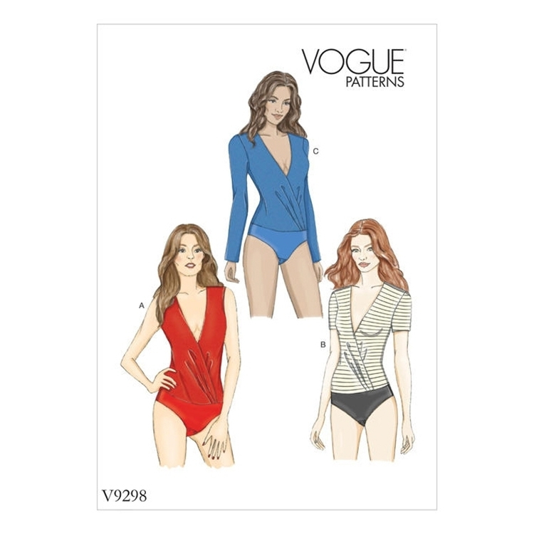 Schnittmuster Vogue 9298 Body | Stoffe Hemmers