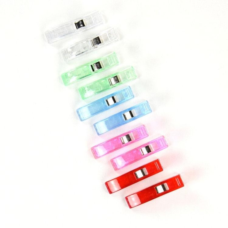 Fabric Binder Clips Big 10 Pcs.., Multicolore