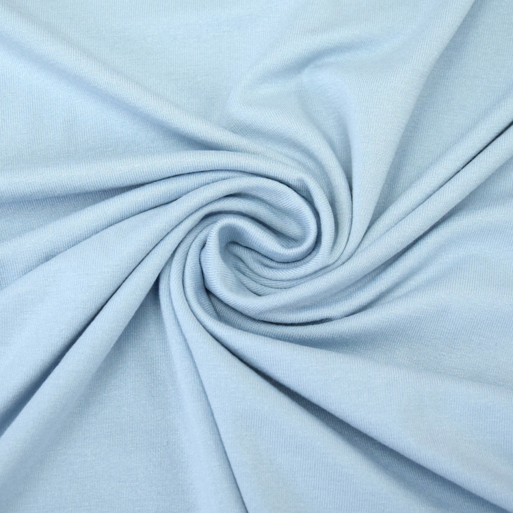 0651f43b171 Viscose jersey light blue item no. 124.051-5029